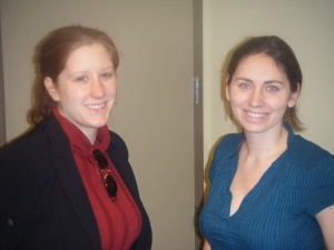 Strategis' Pam Maloney & United Way's Meghan Keaney